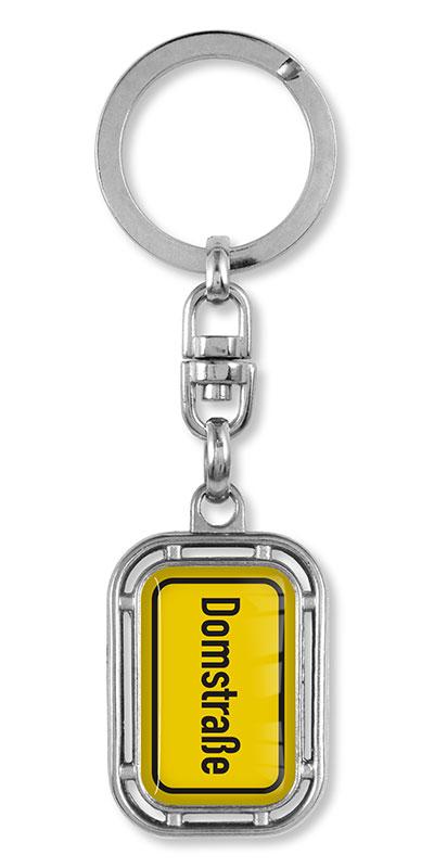 M70815 Ortsschild Schlüsselanhänger