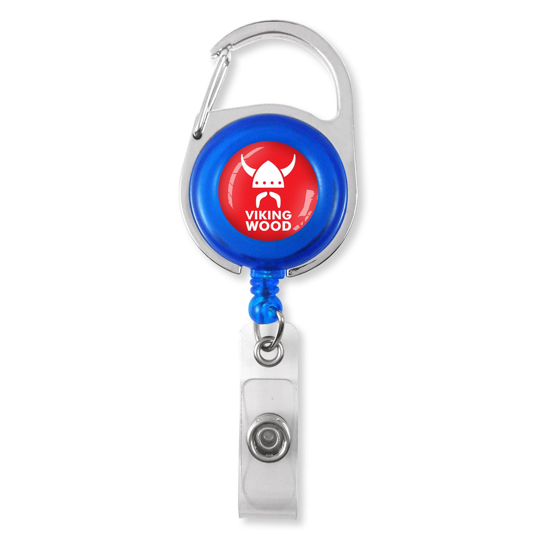 M70985 Badgehouder Blauw