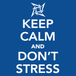 Zonder Stress December In? Keep Calm And Don't Stress.