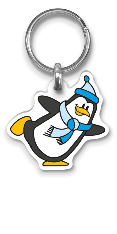 Flexprom Pinguïn Sleutelhanger