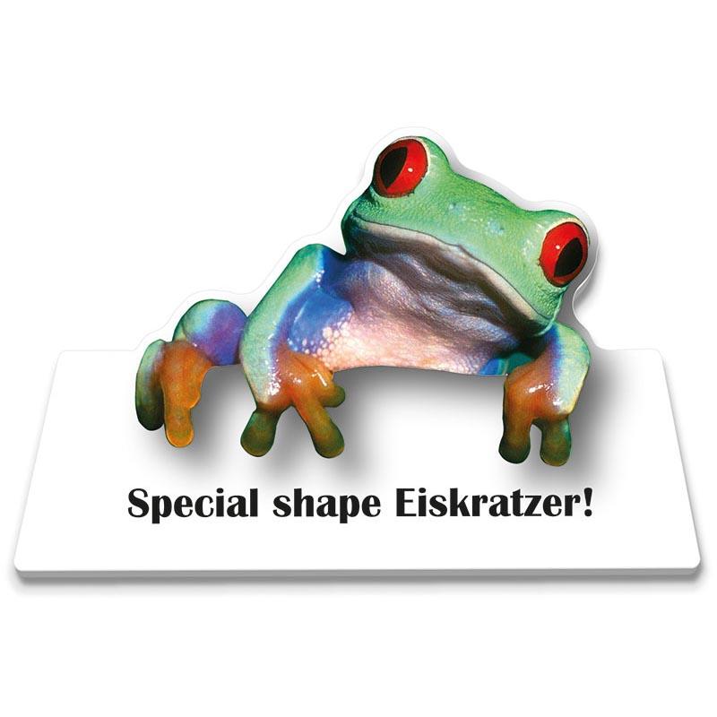 Eiskratzer Frosch