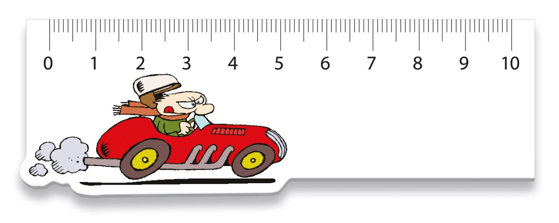 Liniaal Raceauto