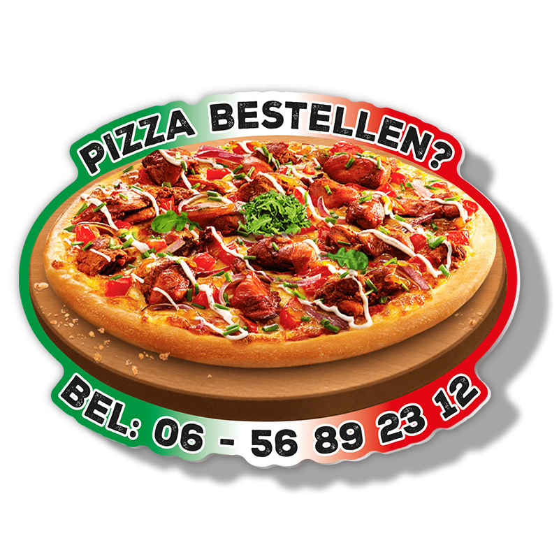 Magneet-Special Pizza