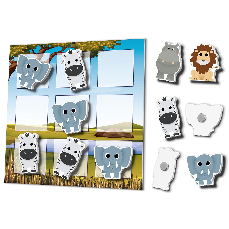 Magneetbordjes Met Custommade Magneten: Savanne