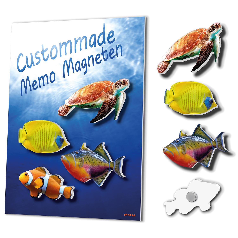 Magneetbordjes Met Custommade Magneten: Oceaan