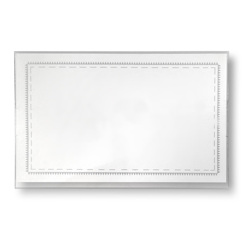 M60150 Blanco Badge